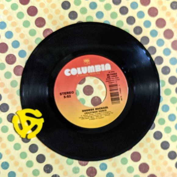 Columbia Other - George Michael Too Funky / Crazyman Dance Record